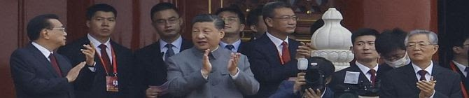 """President Xi Strikes Belligerent Tone At CPC Centenary, Says China Won't Be Bullied By Any 'Foreign Force"""""""