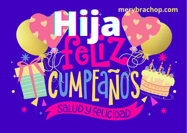 feliz cumpleaños hija video para felicitar cumple de mi niña hija princesa