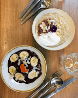 Deliciously Ella deli London, Dad's Perfect Groovy Porridge [Vegan!], imogen molly blog, www.imogenmolly.co.uk