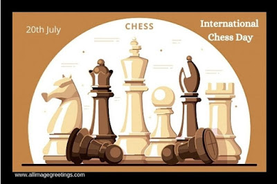 international chess day image and wishes
