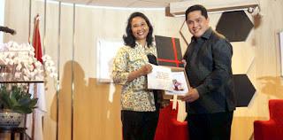 Sama Dengan Rini, Jangan-jangan Erick Thohir Tolak Relawan Jadi Komisaris BUMN Juga Kemauan Jokowi