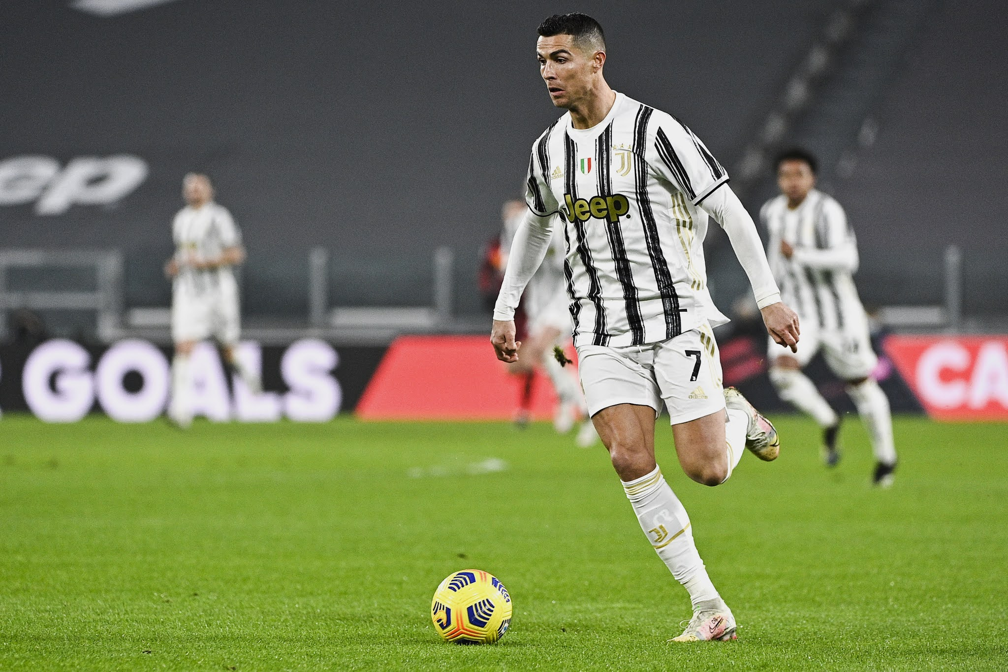 Cristiano Ronaldo's Juventus will be hoping to get back to winning ways against Spezia in midweek action