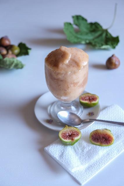 Ricetta della granita siciliana ai fichi bianchi senza gelatiera