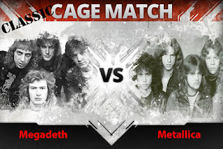 Disebalik Metalica vs Megadeath