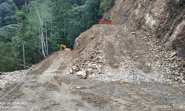 Proyek Peningkatan Jalan sampai Perbatasan Gayo Lues