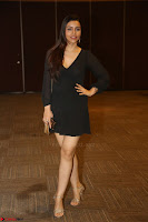 Kyra Dutta in black At Rogue Movie Audio Launch ~  070.JPG