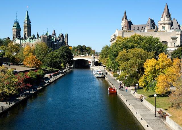 Canal Rideau em Ottawa