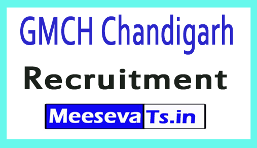 Government Medical College / Hospital GMCH Chandigarh Recruitment