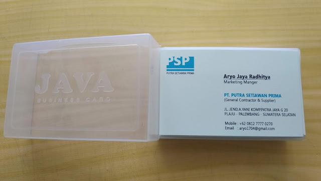 Kartu Nama Karyawan PSP