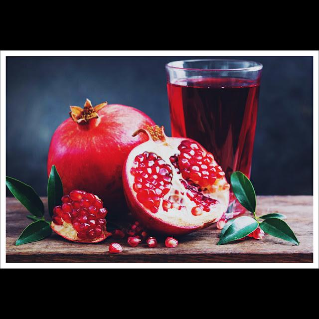 Pomegranates juice