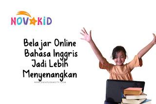 Novakid belajar bahasa Inggris online