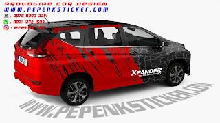 Digital printing Mitsubishi xpander