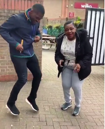 "BBNaija's Tobi Bakre Dances ""Zanku"" With His Mother In London"