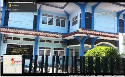 Dinas Pendidikan dan Kebudayaan Kabupaten Batang mengadakan  Undangan Bimtek Kurikulum 2013