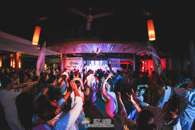 Everybody is awesome dancers when it comes to Club Med Cherating Beach