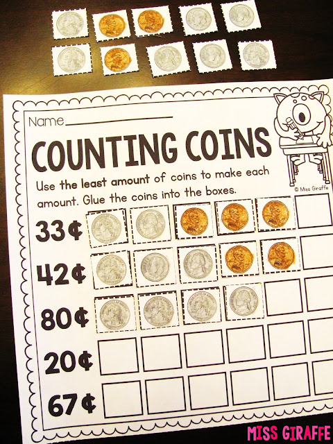 Counting coins is easy with all these fun ideas and games - click on the picture to check them all out!
