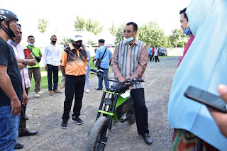 Sepeda Listrik Karya Anak NTB Tembus Pasar Internasional
