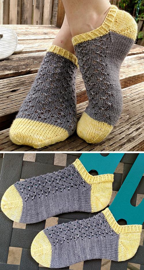 Neptunia Socks - Free Knitting Pattern