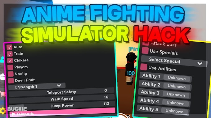 Anime Fighting Simulator GUI