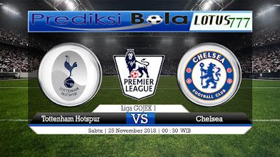 Prediksi Tottenham Hotspur Vs Chelsea 25 November 2018