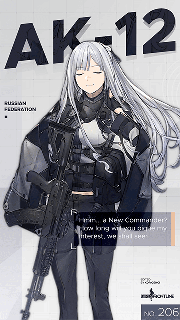 AK12 - Girls' Frontline Wallpaper