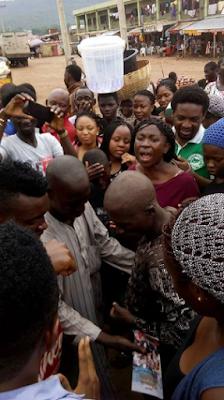 Nigerian Church Choir allegedly restores sanity to a mentally challenged man through praise & worship (see photos)