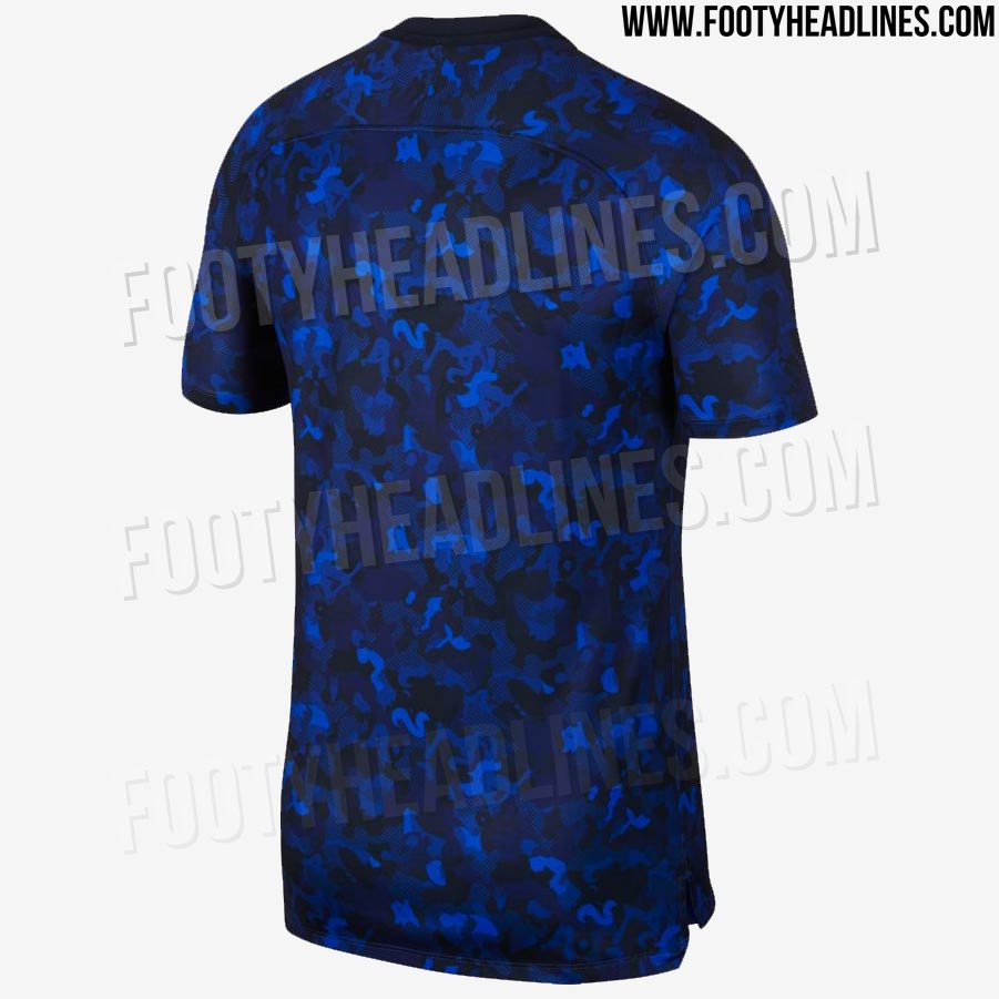 Chelsea Fc Latest News: Nike Chelsea 2019 Camouflage Pre-Match Jersey Leaked