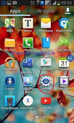 Cara Mengunci HP Android Dengan Pola
