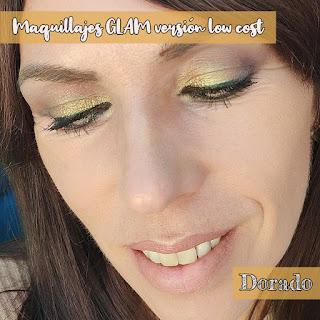 Maquillajes GLAM versión low cost: DORADO