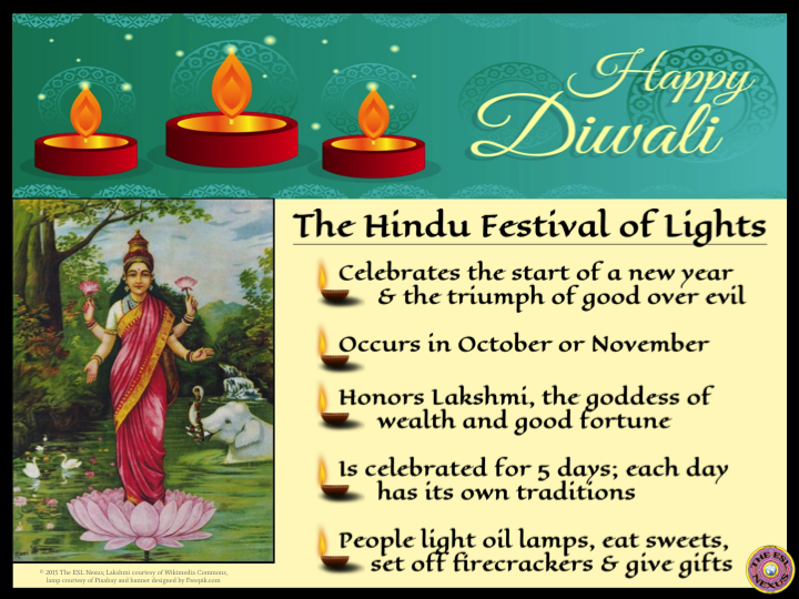 Diwali poster | The ESL Connection