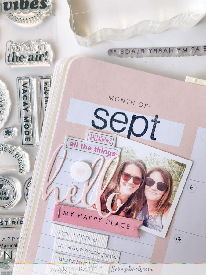 Three Ways to Use Stamps in Your Memory Planner