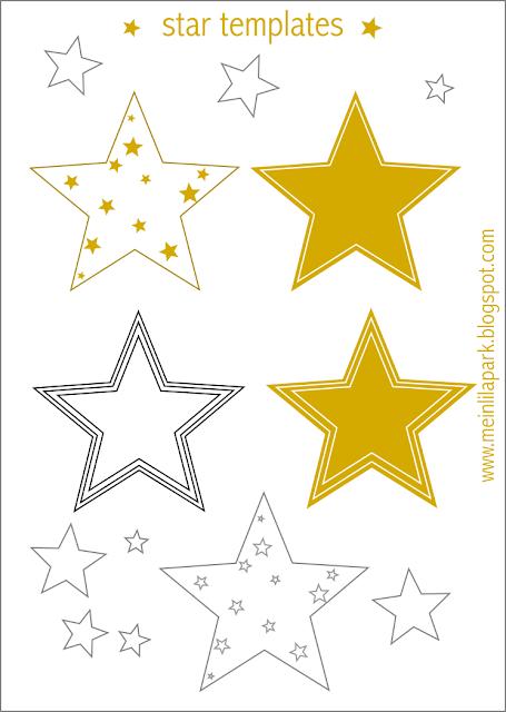 free printable star templates 16 last minute diy christmas