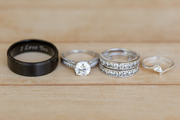 wedding rings at shenandoah mill
