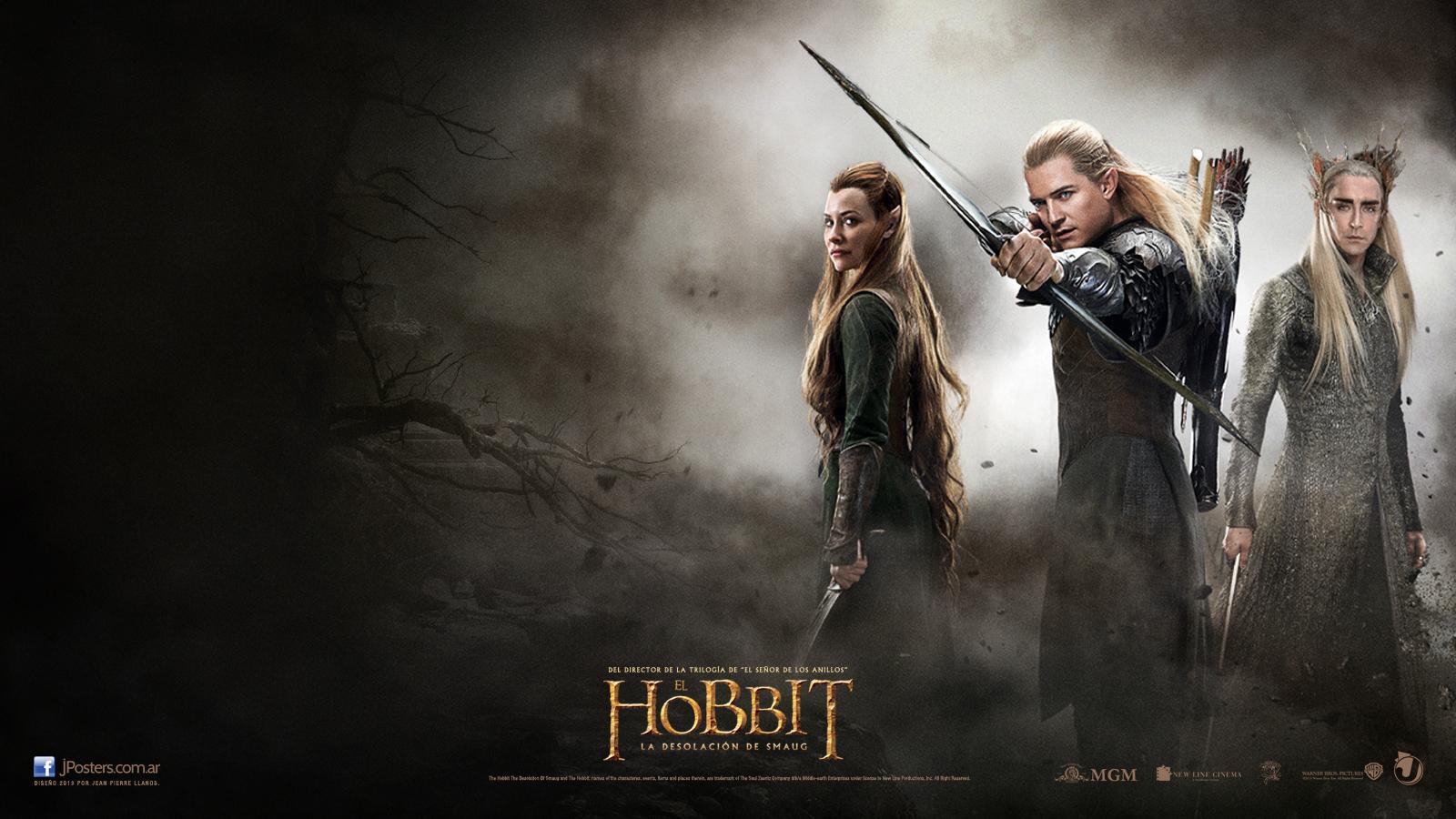 Legolas y Tauriel (¡Cómo no!)