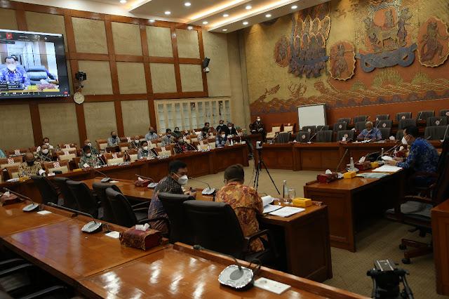 BP Batam Gelar RDP bersama Komisi VI DPR RI Untuk Melaporkan Realisasi Anggaran 2021