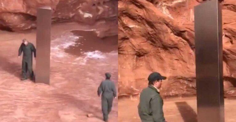 Monolito encontrado no Utah