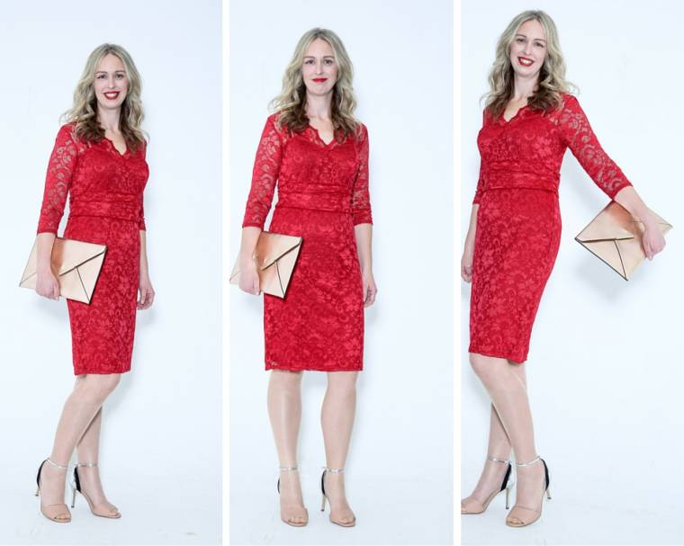 Red Lace Dress: Motivational Monday