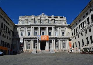 The Palazzo Ducale in Genoa, taken from Piazza Matteotti
