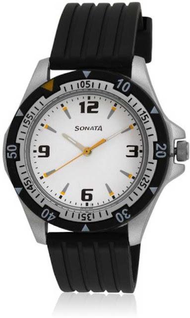 Sonata Analog Watch