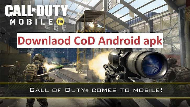 Download Call of Duty Mobile Apk + Obb Data for any Android