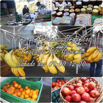 Feira de Produtos Orgânicos em Itapema