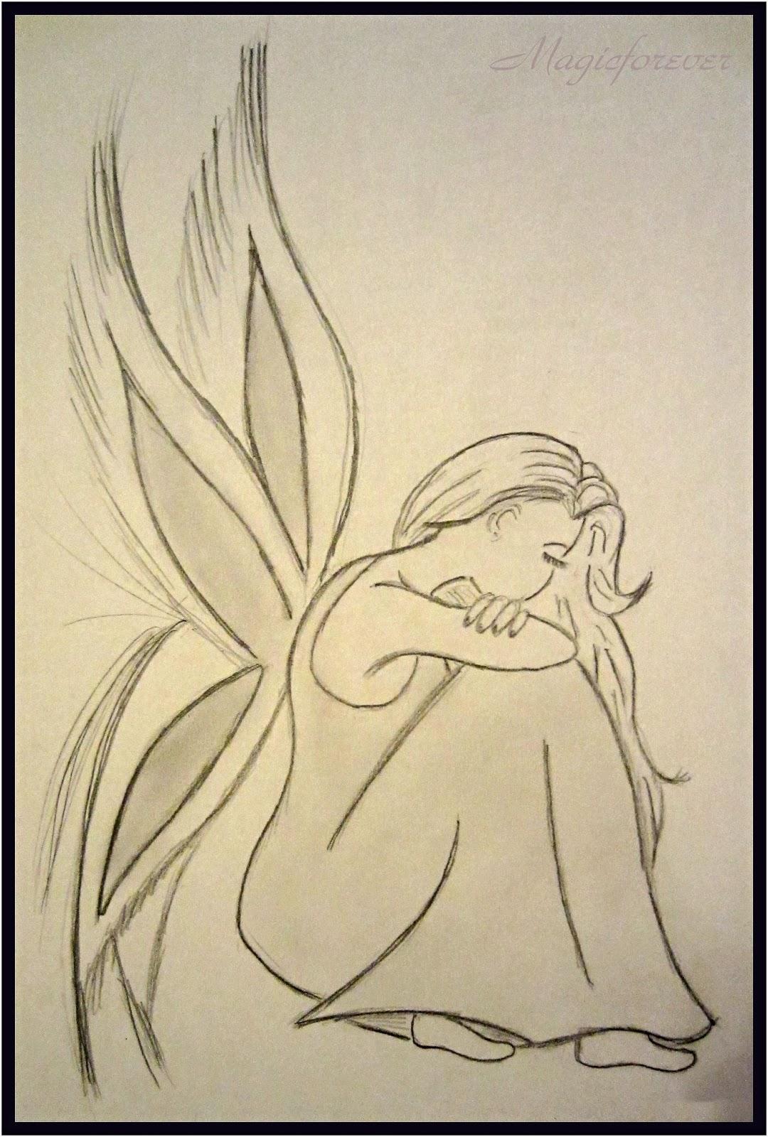víla,krása,sad,smútok,zúfalstvo,