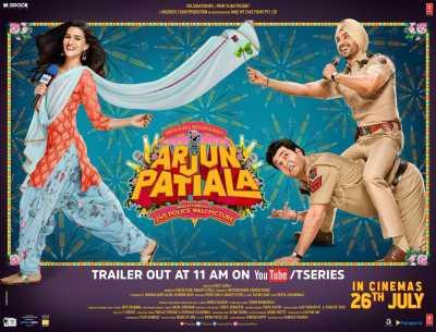 Arjun Patiala Full HD Hindi 300MB 480p 720p Movie MKV