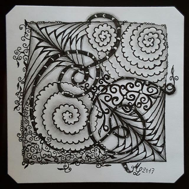 meine Tile für It's a String Thing #179 von Adele Bruno
