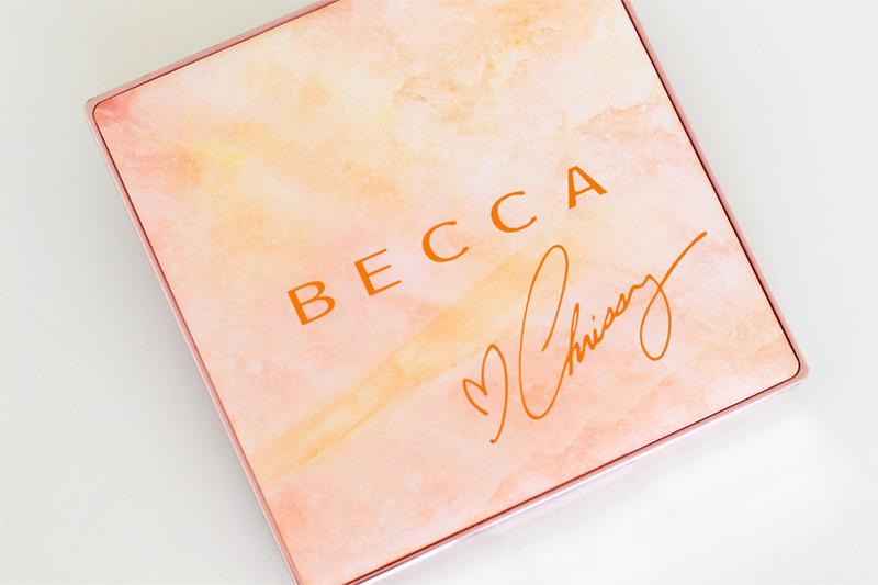 Glow Face Palette Becca x Chrissy Teigen