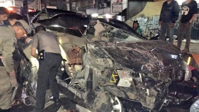 Presenter TV Ini Tewas dalam Kecelakaan Maut di Mampang , Ini Dia Videonya