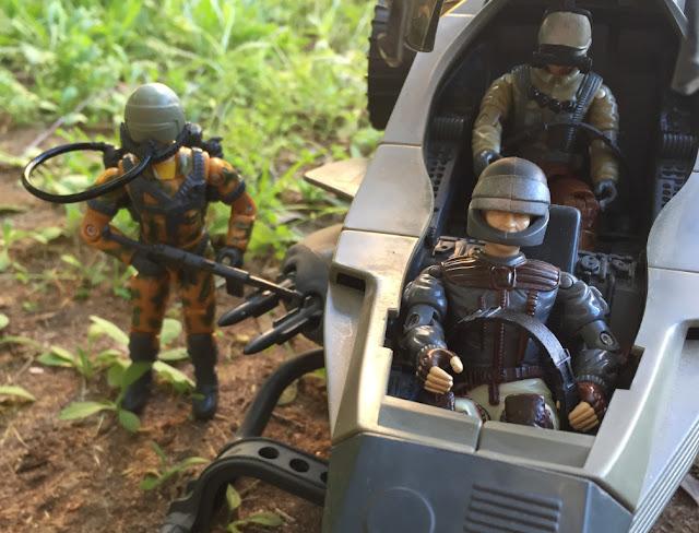 1990 Updraft, Retaliator, 1994 Viper, Battle Corps, Freefall, Bullhorn