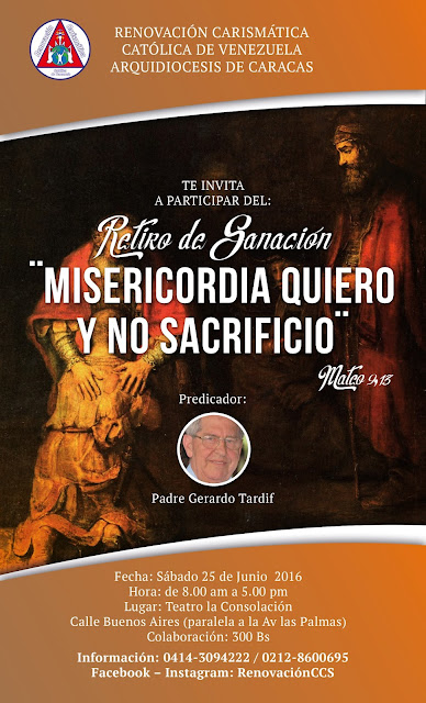 Renovacion Carismatica Catolica de Venezuela.Asesoria Inmobiliaria 04123605721