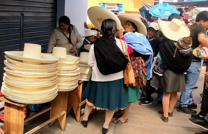 Los sombreros cajabambinos se ponen de moda