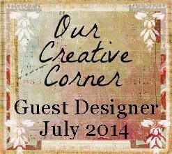 Honoured to be a Guest Designer